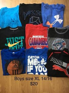 Boys size XL