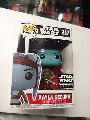 Funko POP! Star Wars- Aayla Secura- Smuggler's Bounty Exclusive