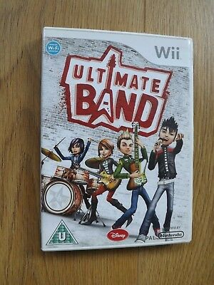 Ultimate Band Wii Game for sale  Shipping to Nigeria