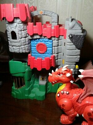 Fisher Price Imaginext Great Adventures Fold & Carry Castle Playset, Dragon 05
