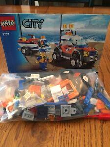 Lego Coast Guard 4 WD and Jet Ski