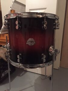 Drum Stuff - PDP Platinum Maple 14x12 Floor Tom. $80