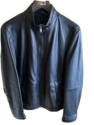 Hugo Boss Black Nilas Lesther Jacket
