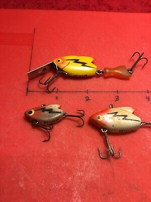 3 Heddon Sonic Lures, Fire Tail (Tail Sonic)