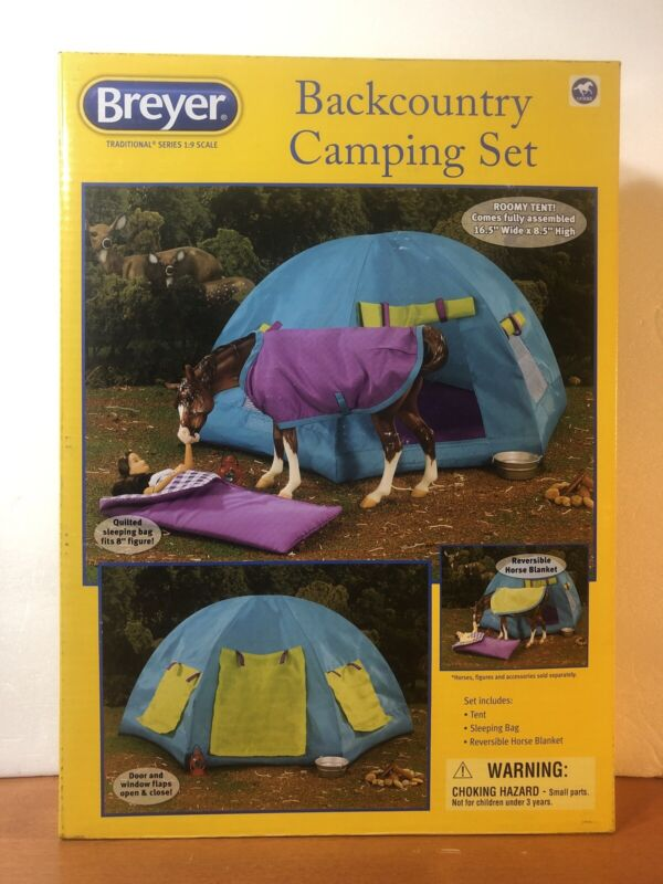 Breyer Backcountry Camping Set #1380 Horse Accessories 1:9 Scale Model 2015 NIB