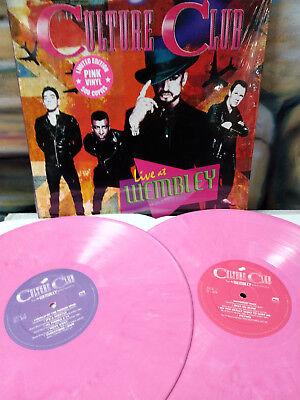 Culture Club   Live At Wembley 2016 Pink Vinyl Lp Boy George Ill Tumble 4 Ya