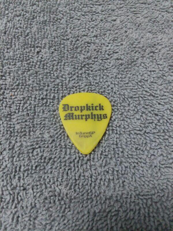 DROPKICK MURPHYS 2017 Stories Tour Guitar Pick!!! TIM BRENNAN custom stage #1