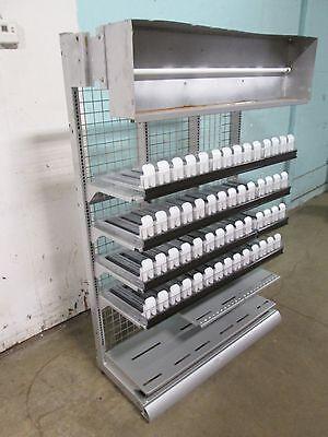 Harbor Industries Flex Frame 2 Commercial 36 Cigarette Lighted Display Case
