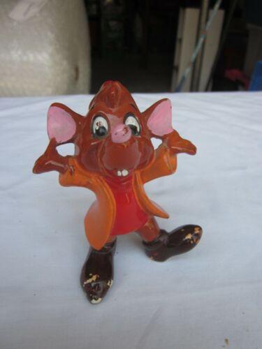 Vintage Cinderella Mouse Jaq Ceramic