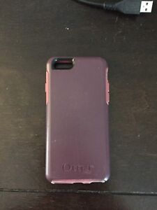 IPhone 6 + Pink Otterbox Case