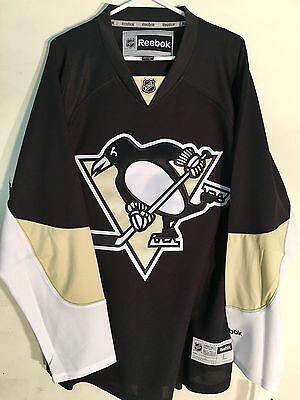 Reebok Premier NHL Jersey Pittsburgh Penguins Team Black sz - Black Premier Team Jersey