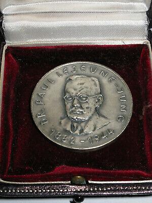 Rarität - alte Silbermünze 835- Dr. Paul Lejeune-Junge 20.07.1944 - 25,55 g - Junge Münze