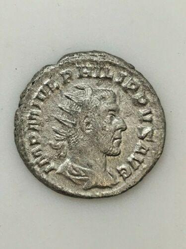 RARE Ancient Roman Silver Coin - Emperor Philip 1 - 244/249 A.D. RSC1
