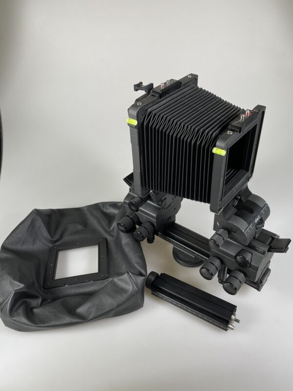 Cambo Ultima D 23D View Camera With Bellows, Wise Angle Bellows, Rail Extension