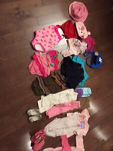 Baby Girl Clothes 12 mths
