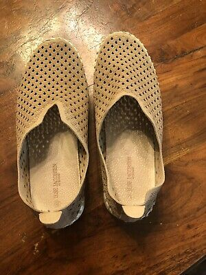 Ilse Jacobsen Tulip Shoes Slip On Sneakers Taupe Size 40