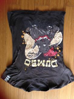 Dumbo, Sylvester, Tweetie Bird Women's T-shirts Size Small