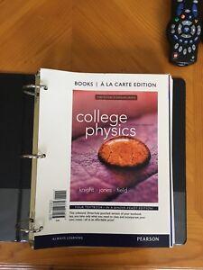 First year physics book binder edition
