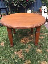 Antique wooden table Kirrawee Sutherland Area Preview