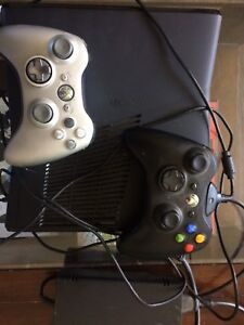 XBox 360  250Gb and 45 games