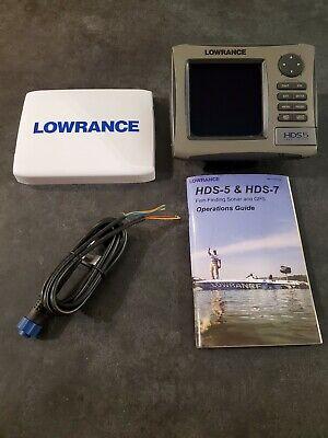 Lowrance HDS5  Fishfinder + GPS Chartplotter Lake Insight