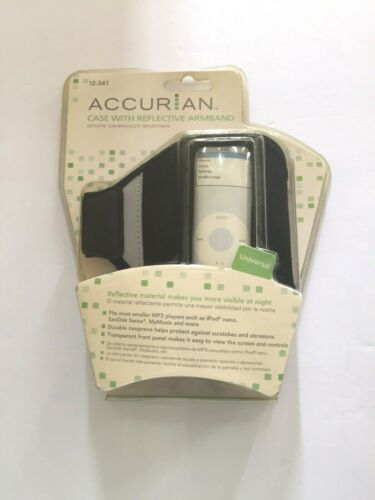 Accurian Case with Reflective Armband for MP3 players 12-341 In Box & Sealed
