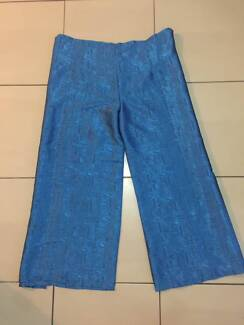 Thai Boho Fisherman Style Tie Pants Suit Up To 14 Worn Once