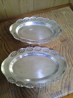 Pair of silver bowls.  Direk Salisbury Area Preview