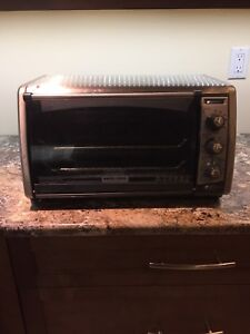 "Black and Decker 14"" Convection Toaster Oven"