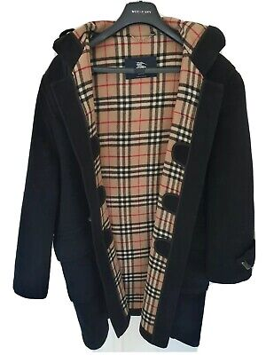 Mens chic LONDON by BURBERRY duffle coat/jacket Size XL. Ex con. RRP £995.