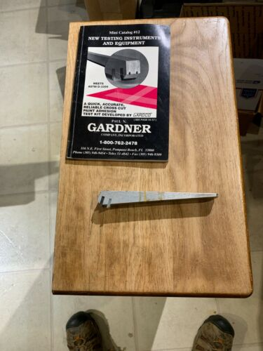 Gardco Paint Adhesion Test (PAT) Holder w/PA 2056 Coarse Blade w/Catalog
