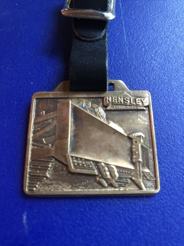 vintage antique pocket watch fob HENSLEY Blade-RARE