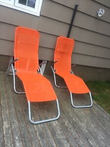 Poolside chairs/Bay chairs