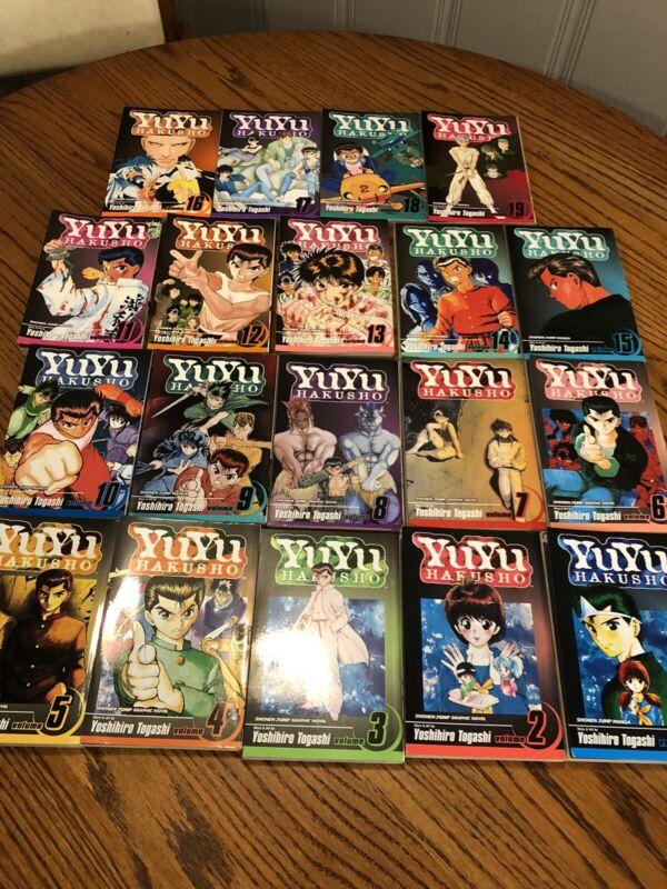 Yu Yu Hakusho Complete English Manga