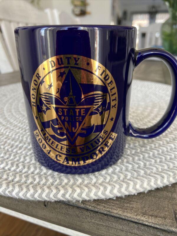 New Jersey State Police Boy Scouts 2004 Camporee Coffee Mug