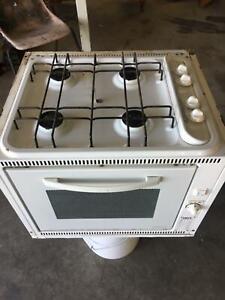 Caravan stove