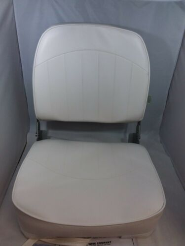 Wise 8WD734PLS-710 Low Back Boat Seat, White