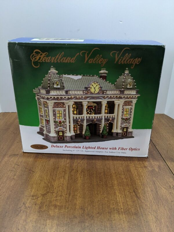 Heartland Valley Village Deluxe Porcelain Lighted House