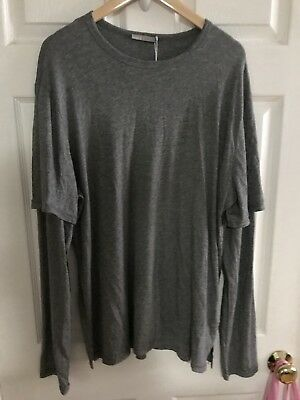 VINCE Premium Men's Long Sleeved T-shirt Henley NEW Size X-Large  Retail $125 ()