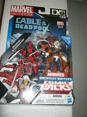 Taskmaster Deadpool MARVEL LEGENDS UNIVERSE ACTION FIGURES COMIC BOOK 2 pack