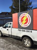 Lightning Junk Removal⚡️Clear it Out!