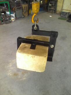 how to build a limestone block lifter