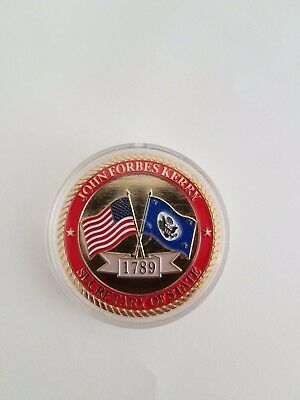 United States Secretary Of State John Kerry Official Challenge Coin