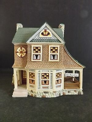 """DEPT 56 SEASONS BAY """"THE SIDE PORCH CAFE"""" - OPEN EDITION - # 53303 - NEW IN BOX"""