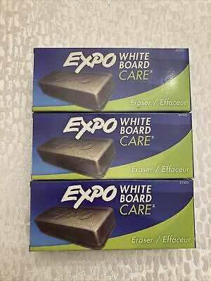 Lot Of 3 Expo White Board Care Eraser 81505 Dry Erase Board Freefast Shipping