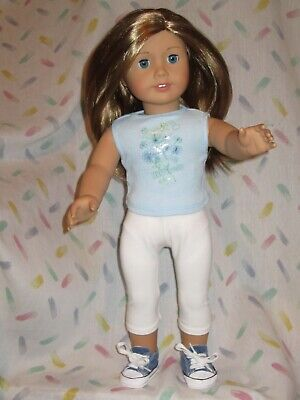 "American Girl 18"" Doll - dark blonde hair - blue eyes"