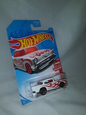 Hot Wheels 57' Chevy Hot Rod Red Edition Target Exclusive