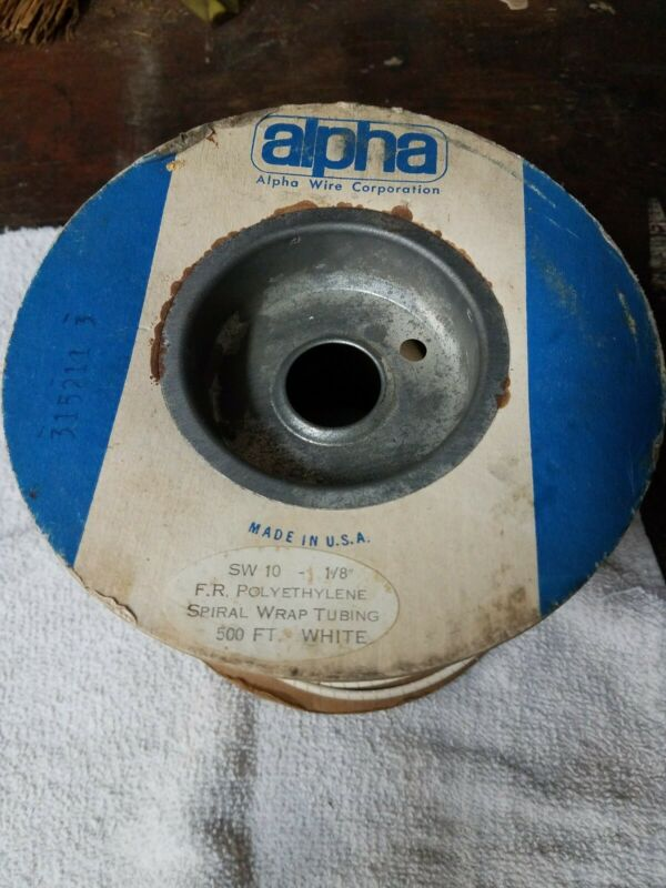 Alpha sw10 polyethylene spiral wrap tubing
