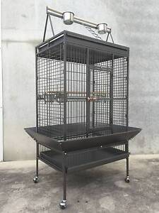 Large 173cm Play Top Roof Parrot Aviary Bird Cage Perch Ladder Riverwood Canterbury Area Preview