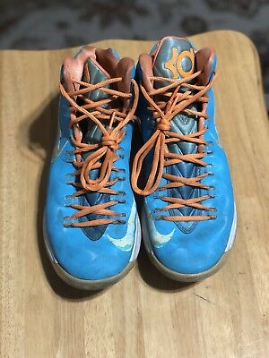 Nike KD 5 Easter Size 9.5 good condition doesn't come with box.  - Easter Goods